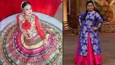 The name Bharti Singh needs no introduction. And it's not just her outstanding comic presence on-screen we love her for, but we admire her for her amazing fashion sense too. She's got an amazing style, which makes her a fashion idol of many plus- Bharti Singh, Fashion Idol, Fashion Tips, Indian Bridal Fashion, Woman Beach, Bollywood Fashion, Indian Outfits, Bridal Style, Stylish Outfits