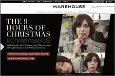 #ChristmasSOS took over warehouse.co.uk for the festive season
