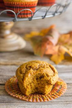 Pumpkin muffins - perfect for breakfast!
