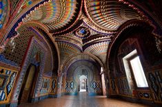 The Peacock Room at Sammezzano Castle in Tuscany - Imgur