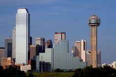 Skyline of Dallas, Texas, USA. #dallas