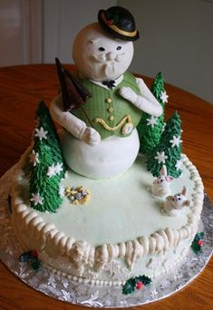 Christmas Cake...I can hear Burl Ives now!