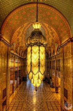Fisher Building by CityPhotos by Rod