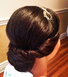 Vintage Bridal Bun
