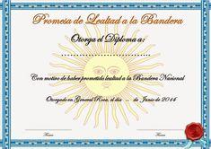 Supervisión de Educación Primaria AVE I: Diploma de Promesa de Lealtad a la Bandera   Balcarce Baby Shower, Printable Certificates, Pledge Of Allegiance, Baby Sprinkle, Baby Showers, Babyshower