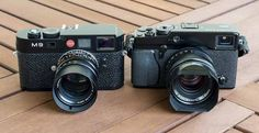Leica M9 - Fuji X-Pro1
