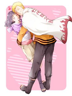 Naruto Uzumaki & Hinata Hyuga.
