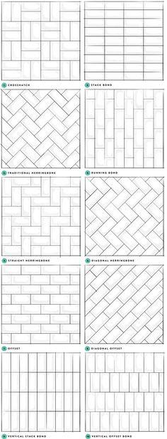 Subway Tile Designs Inspiration | A Beautiful Mess | Bloglovin':