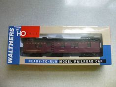 Walthers Norfolk & Western 514780 Dynamometer Car HO Scale w/ Box #Walthers