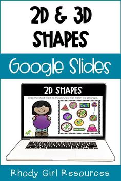 Shape Activities Kindergarten, Early Finishers Activities, Learning Activities, First Grade Classroom, 3d Shapes, Play To Learn, Google Classroom, 2d, Distance