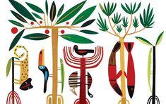 Geraldo Valério Illustrator - Portfolio Page