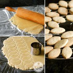 Anjos de cone recheados com doce de leite e beijinho de coco - passo a passo com…