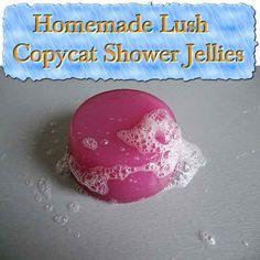 Homemade Lush Copycat Shower Jellies - LivingGreenAndFrugally.com
