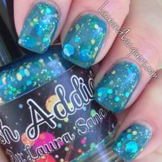 "Polish Addict - Imagine Dragons. This nail polish color is literally called ""Imagine Dragons"" Please take my money now."