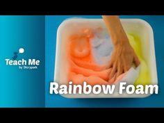 Teach Me: Rainbow Foam - YouTube