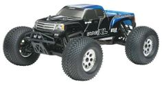 HPI Racing RTR 1/8 Savage XL 5.9 with 2.4GHz and Gigante Truck Body by HPI Racing. $589.99. From the Manufacturer                The Savage XL is the extra-large, extra-tough and extra-powerful big brother to the Savage X monster truck. For improved stability and handling, the Savage XL has a 55mm longer wheelbase and a 25mm wider track. With a longer wheelbase, wider stance and huge 5.9cc (.36 cubic inch) engine, the Savage XL is ready to rock and roll right out of the box....