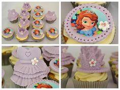 Princess Sophia the First cupcakes