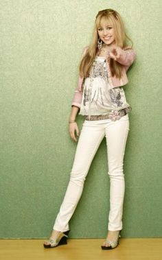 Miley Cyrus as Hannah Montana.. Still love [most of] the Hannah outfits. Miss this show!