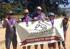 CONGRATULATIONS! to our Casa Pacifica bocce ball team for placing FIRST and winning the #gold in the #venturacorporategames!! #casapacifica