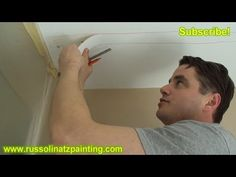 In this video, I am repairing 2 of the cracked seams in the Drywall Ceiling. I use my knife to make an incision at either end of the Tape and then use my 1 inch flexible putty knife to assist in lifting away the old Drywall tape