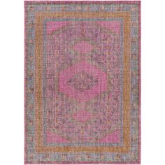 Surya Zahra ZHA-4008 Magenta Hand Knotted Area Rug – Incredible Rugs and Decor