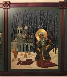 "Saint Xenia was a beautiful Russian girl who became a Fool-for-Christ. The Orthodox Church has a name for holy people that other people might think are crazy -  ""Fools-for-Christ."" They often  just pretend to be crazy so they can hide their spiritual gifts. Sometimes when Christians do good things, they do them secretly so that only God sees. http://www.serfes.org/lives/stxeniaofpetersburg.htm"