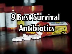 9 Best Survival Antibiotics. These could save your life.