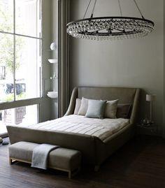 ochre bedroom