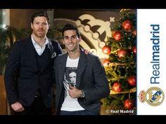 Real Madrid  Xabi Alonso & Álvaro Arbeloa wish you a Merry Christmas & Happy Holidays