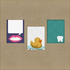 Scrapbooking TammyTags -- TT - Designer - Harper Finch, TT - Item - Journal Card