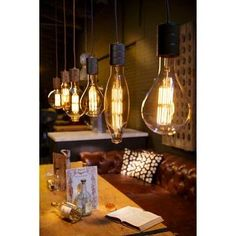 Calex Retro Pendel E40 antiek brons kopen? Verfraai je huis & tuin met Hanglampen van KARWEI
