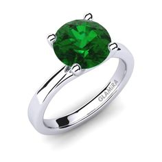 An emerald engagement rings is bought once in a lifetime, so it is very unique and special for the buyer and the receiver. Successful Marriage, Body Jewelry, Emerald, Gemstone Rings, Engagement Rings, Unique, Stuff To Buy, Happy, Engagement