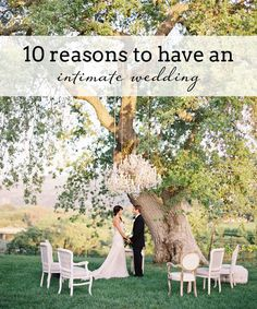 10 Reasons to Have a Smaller Wedding | SouthBound Bride www.southboundbride.com/why-have-a-smaller-wedding Credit: Jose Villa