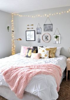 white and gold room black grey 37 creative multifunctional furniture with elegant style furniture furnituredesign furnitureideas cool teen girls room gray striped walls black and white bedding