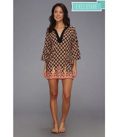 Nanette Lepore Morrocan Medallion - Special Tunic. If I did wear tunics or lived by the beach, I'd wear this!