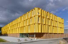 Hub Creatic – Tetrarc (La Chantrerie, Nantes, Francia) #architecture