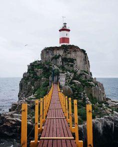 Basargin Lighthouse, Vladivostok