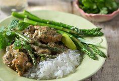Thai Chicken and Asparagus Curry