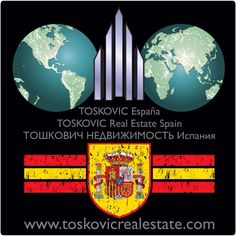 """""""TOSKOVIC España""""  Sea parte de nuestro equipo de éxito! www.toskovicrealestate.com"""