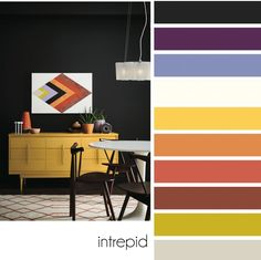 4 Color Trends For Interiors 2017 - Trend 1: Intrepid
