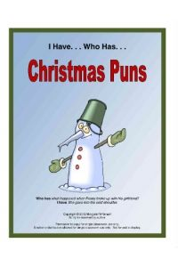 I Have, Who Has. . . Christmas Puns Card Game