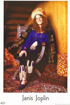 Moon to Moon: Janis Joplin Inspired Interiors. Janis Joplin, Music Icon, Her Music, Music Is Life, Blues Rock, Rockn Roll, Jim Morrison, Female Singers, Jimi Hendrix