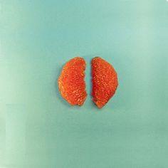 FOOD ART : Mandarin lungs © Dan Cretu