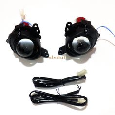 119.99$  Buy now - http://aliv90.worldwells.pw/go.php?t=32255786889 - July King Car Front Bumper Bifocal Lens Fog Lamp Assembly Case for Mitsubishi Lancer ES 2009~2014 Evolution 10th Colt 3D/5D etc 119.99$