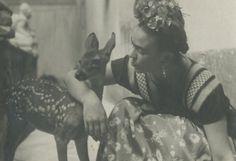 Фрида с оленёнком, 1939