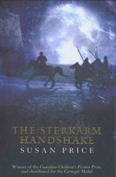 Travel Fiction - The Sterkarm Handshake by Susan Price. A time travel novel with a dash of sci-fi, romance and action mixed in.