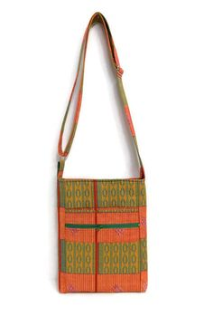 African Print Bag  Kente Bag Hipster Bag   Handmade Bag