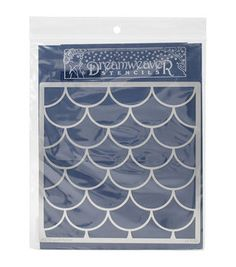 Dreamweaver Metal Stencil 6''x8.75''-Large Scales