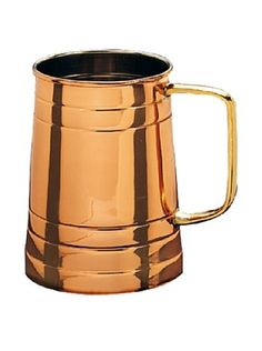 58% OFF Old Dutch International 1-Pint Solid Copper Tankard with Brass Handle