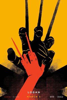 Desconto De Logan Wolverine Movie Poster Art Silk Poster 20x30 24x36 24x43 Da China   DHgate.Com